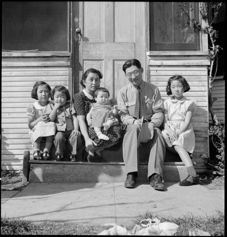 Mountain View, California. Henry Mitarai, age 36, successful large-scale farm operator with his fam . . .